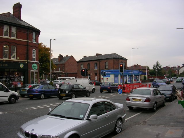 Heaton Chapel junction