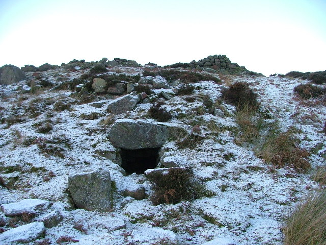 Draw hole of a kiln, Glen Dye