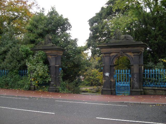 Gates to Heathfield House