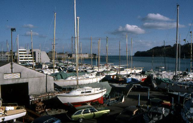 Mount Wise Boatyard, 1979
