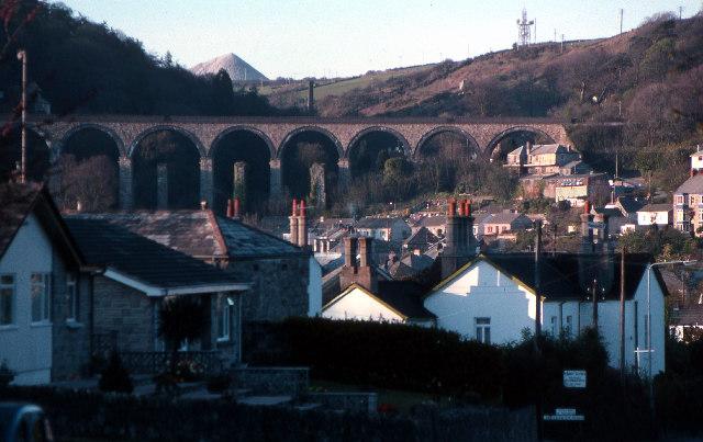 St Austell railway viaduct