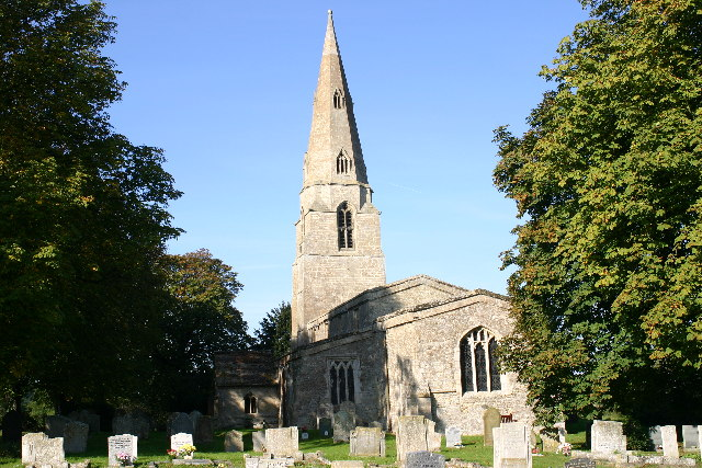 Old Weston church