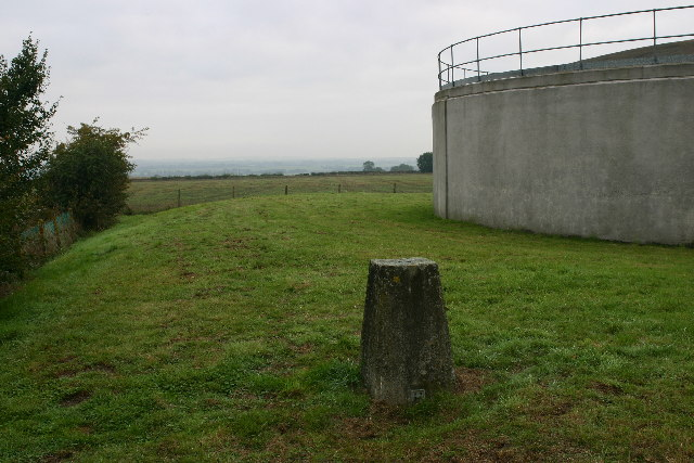 New Farm trig looking towards Great Eversden