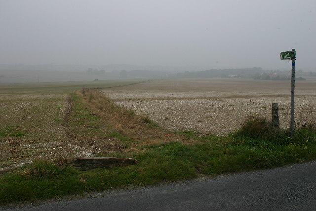 Bridleway to Bekesbourne