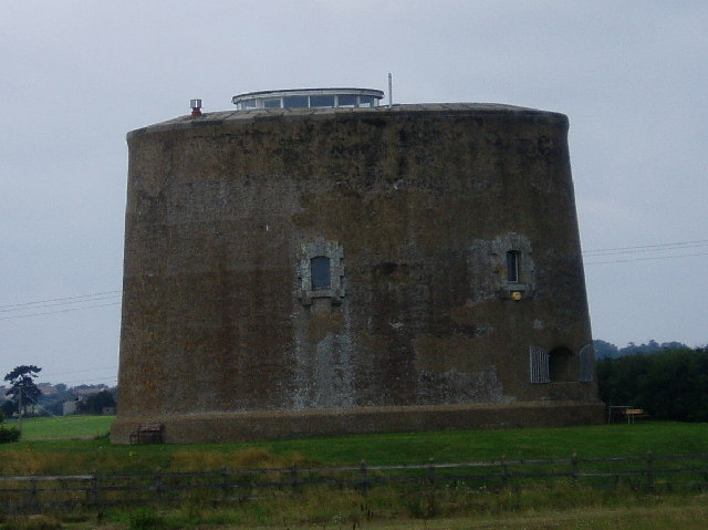 Martello tower - Shingle Street