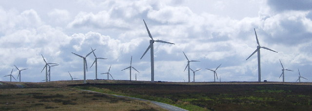 Cold Clough wind farm