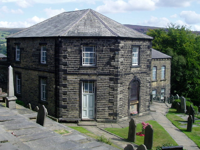 Methodist chapel, Heptonstall