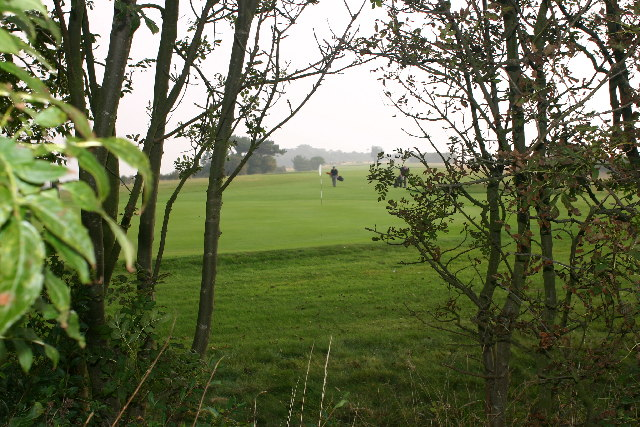 Golf course from Hope Farm trig