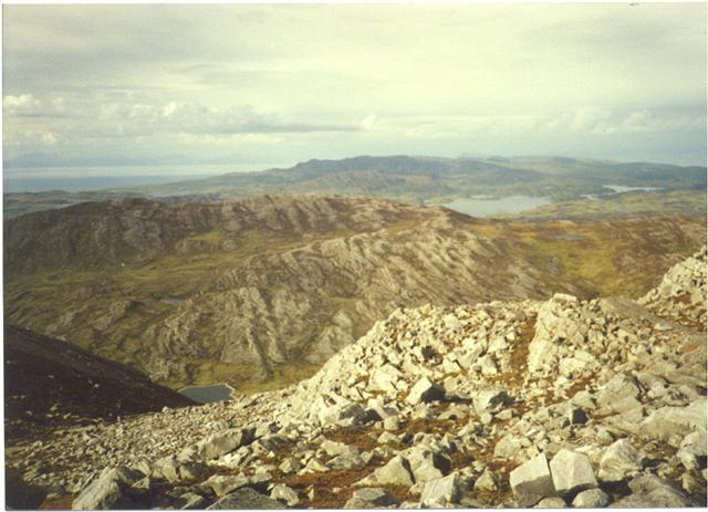 View North from Corra Bheinn