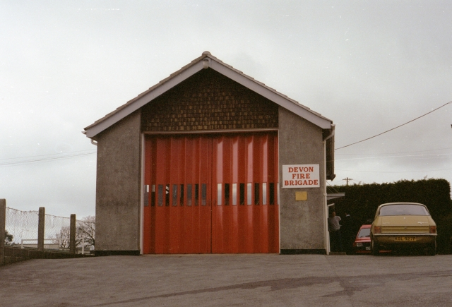 Bere Alston Fire Station