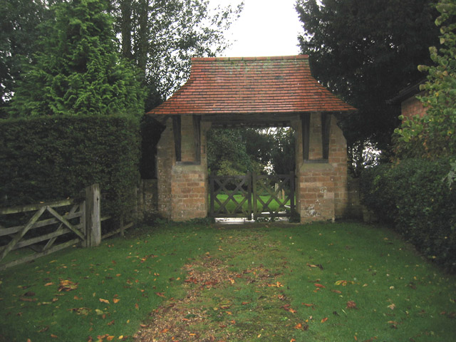 Lych Gate, Harston