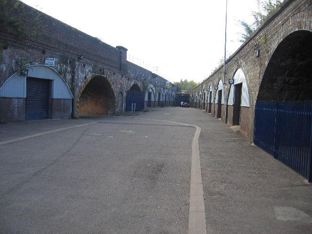 Underneath the arches, Leamington Spa