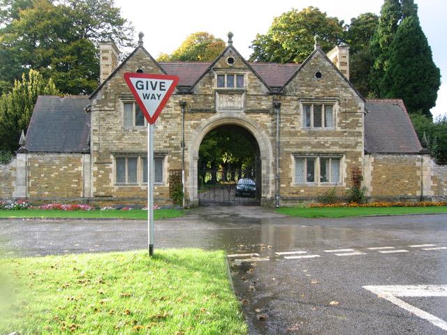 Denton Manor Gate House