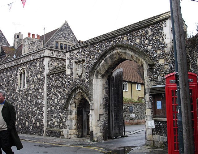 The Mint Yard Gate, Kings School, Canterbury