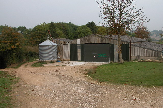 Farm buildings near the village of Guiting Power