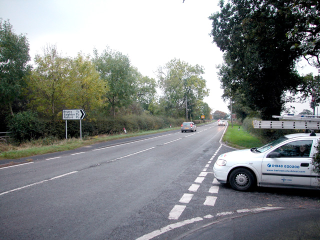 A41 trunk road