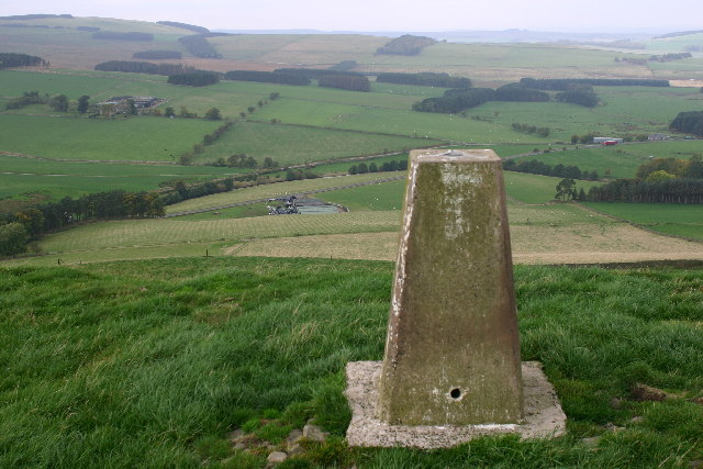 Southdean Law trig looking W