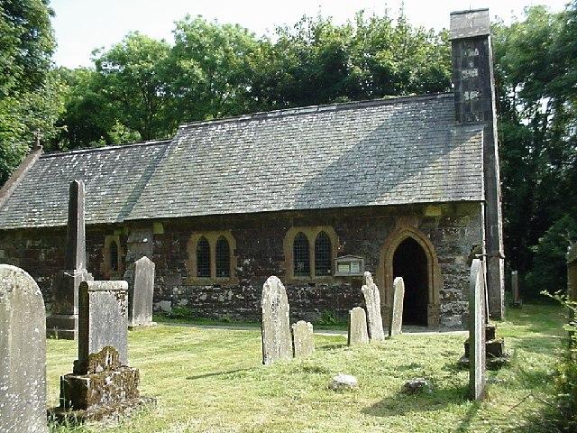 St Davids church, Llanychaer