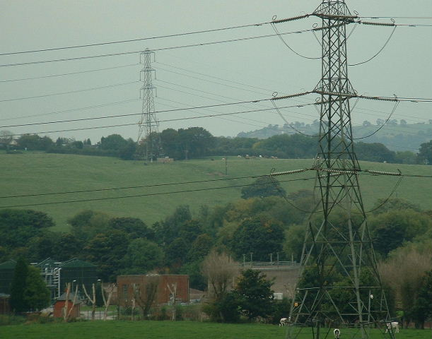 Bunkers Hill and Sewage Works