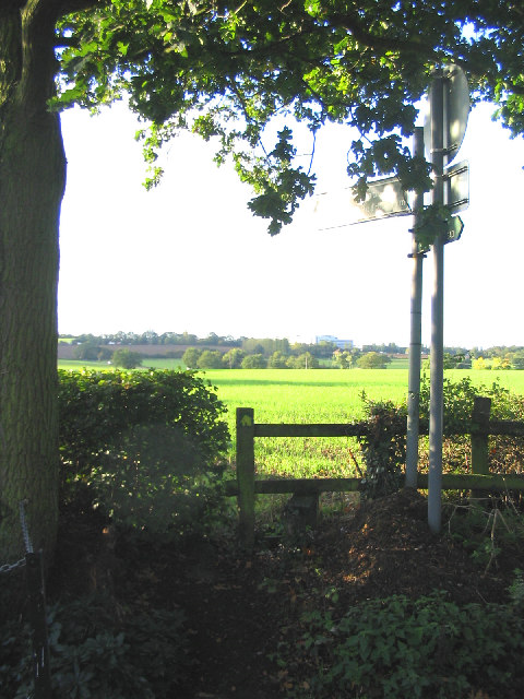 Stile & Footpath, Little Burstead, Essex