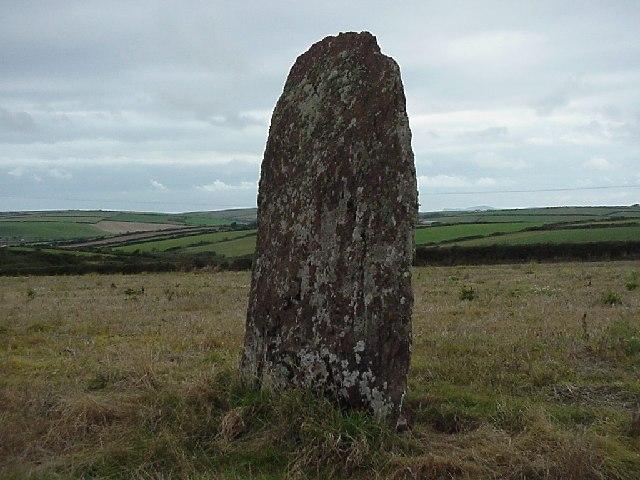 Mabesgate standing stone