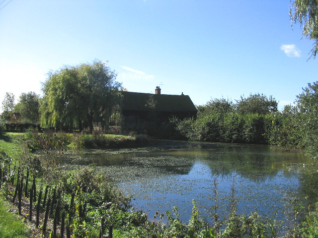 Pond and Barn, Gorrell's Farm