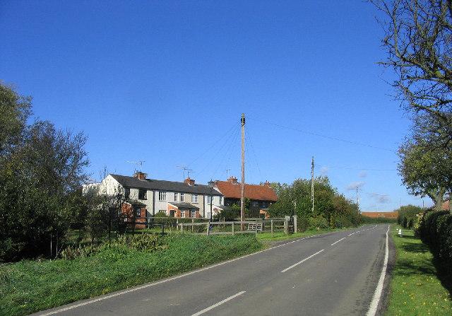 Cottages, High Woods, Essex
