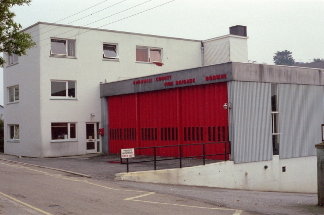 Bodmin Fire Station