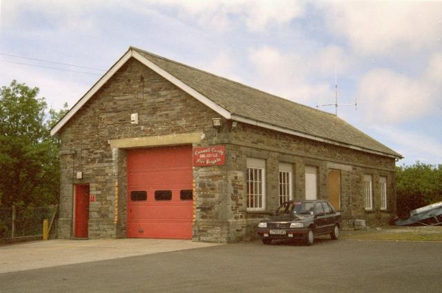 Delabole Fire Station