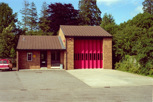 Ottery St Mary Fire Station