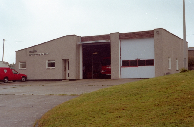 Mullion Fire Station
