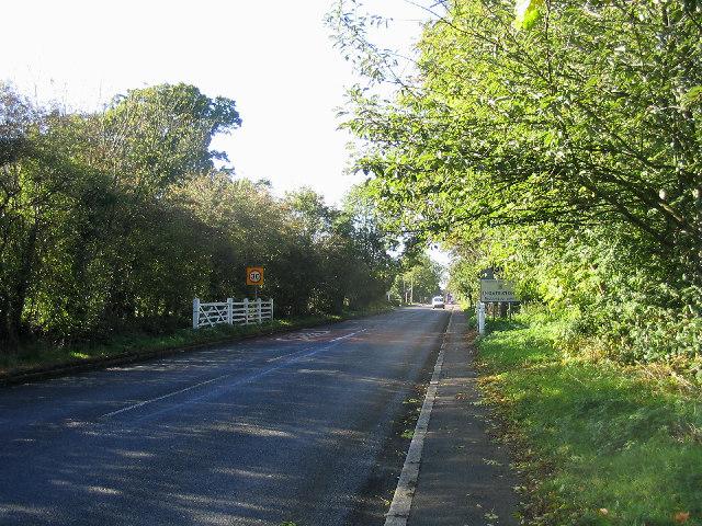 Entrance to Ingatestone, Essex