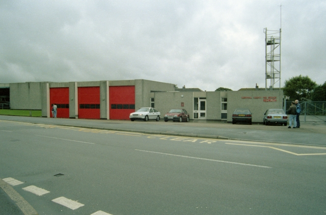 Redruth Fire Station