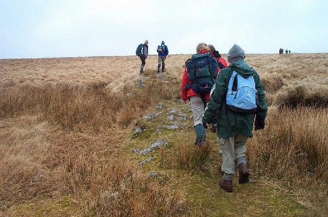 A Dartmoor peat pass