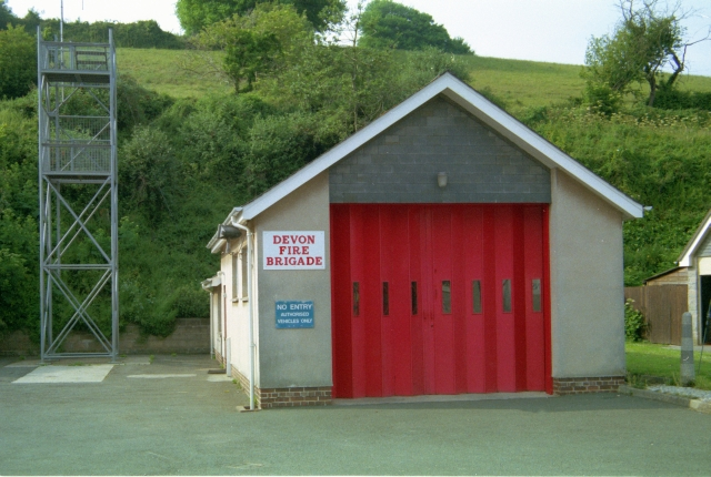 Salcombe Fire Station