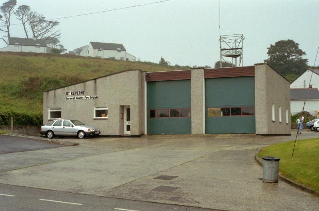 St Keverne Fire Station