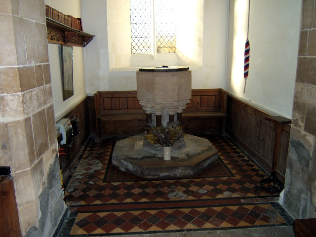 Snitterby Church - The Font
