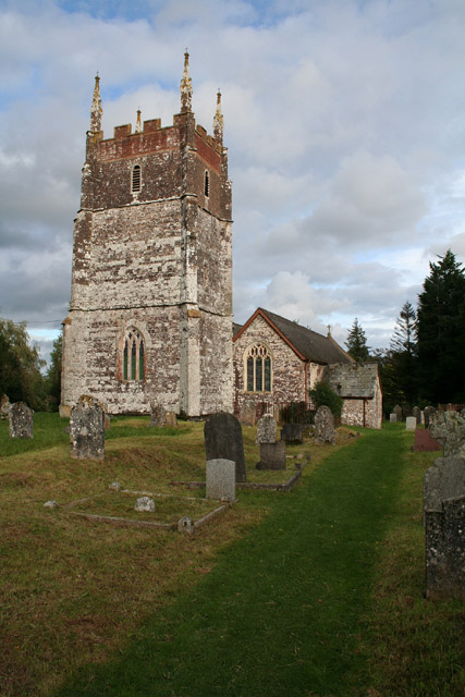 Cruwys Morchard: church