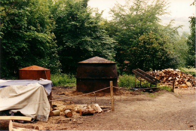 Charcoal Kilns at The Weald & Downland Museum