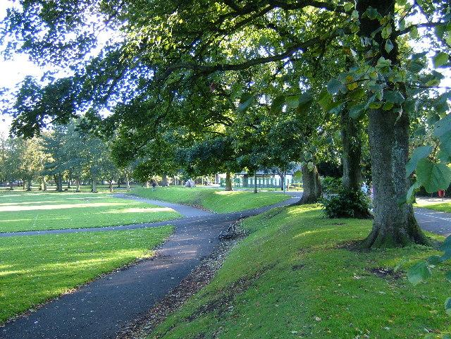 The Lady's Walk, Howard Park, Kilmarnock