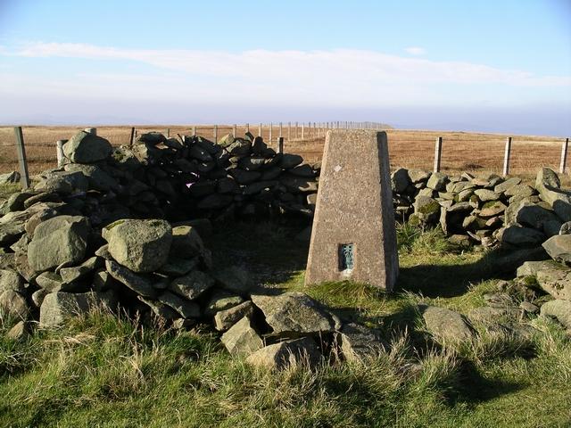 Summit, Hart Fell