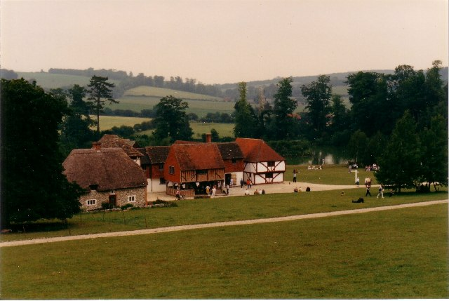 Houses at The Weald & Downland Museum