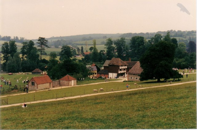 Village Buildings at The Weald & Downland Museum