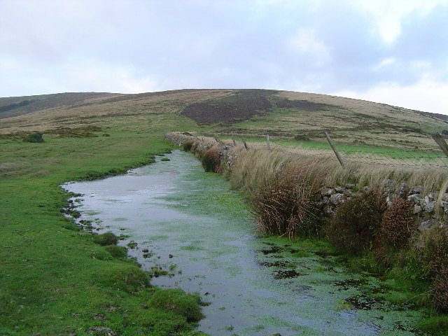 Hamel Down from above Widecombe in the Moor