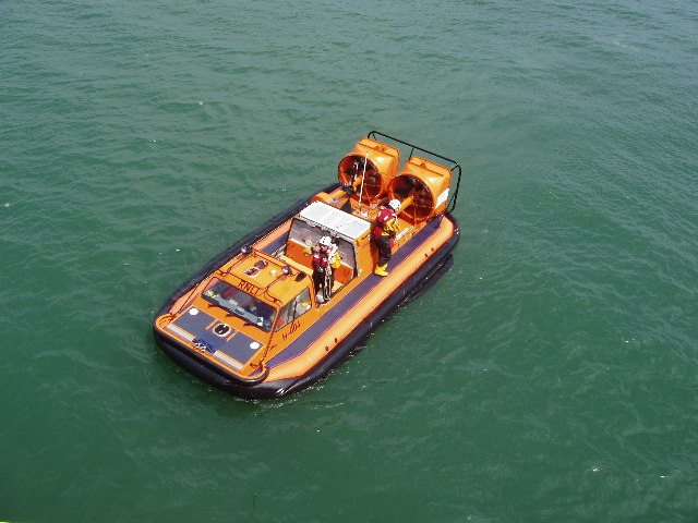 Lifeboat at Southend Pier