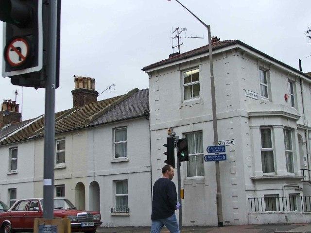 Corner of Langney Road, Eastbourne