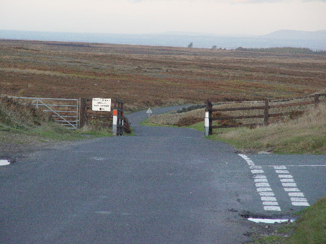 Moor Top Junction & Cattle Grid