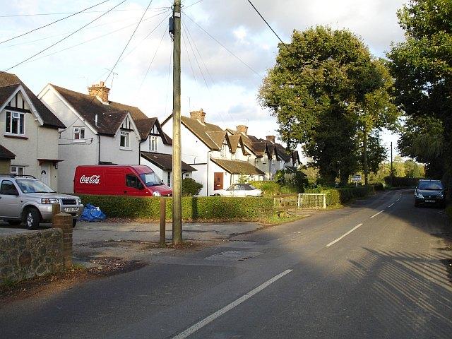 Row of semis on Chartway Street