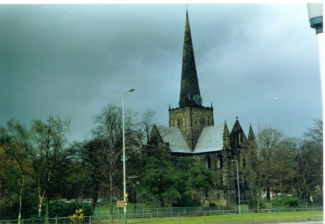 Church of St. Cuthbert, Darlington.