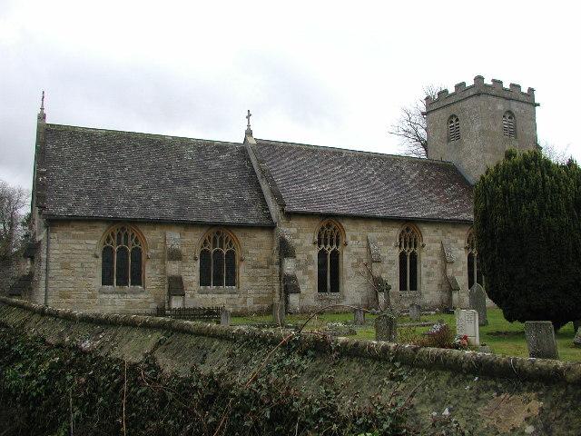Coberley (Glos) The church of St Giles